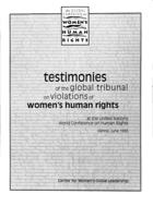 testimonies on social and economic rights