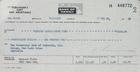 Bank Draft and Correspondence with Raymond Firth, 1968-1969