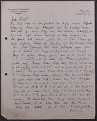 Letter from David Simonsen to Markus Brann, August 31, 1917