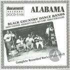 Alabama: Black Country Dance Bands (1924-1949)