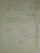 Cablegram from Harris Consul to Governor Harding, April 16, 1918