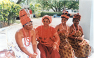 Stills from the feature film Wazobia! by Osonye Tess Onwueme (based on the play The Reign of Wazobia), 2000