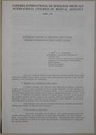Congrès International de Sexologie Médicale - International Congress of Medical Sexology (Hormonal Determinism and Sexual Deisre in Woman - Déterminisme Hormonal Du Désir Sexuel Chez La Femme) - Paris 1974