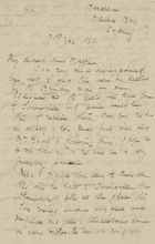 Letter from Ellie Love Macpherson to Maggie Jack, December 7, 1880