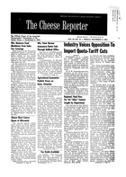The Cheese Reporter, Vol. 87, No. 15, Friday, December 6, 1963