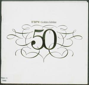 International Federation of Business and Professional Women: Golden Jubilee 1930-1980