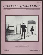 Contact Quarterly, Vol. 10, No. 2, Spring/Summer 1985, Contact Quarterly, Vol. 10, No. 2, Spring/Summer 1985, Music and Sound Issue 2