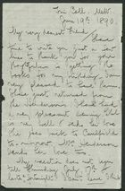 Letter from Stephen Thompson to Edith Thompson, June 19, 1890