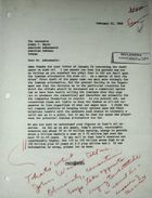 Letter from Theodore L. Eliot, Jr. to Armin H. Meyer, February 21, 1968