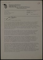 Letter from E. L. King to E. Sams, Sept. 15, 1971