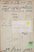 Arrivals of Cereals in the U. K. Weekly, 1949 - 1951