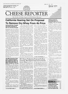Cheese Reporter, Vol. 132, No. 8, Friday, August 24, 2007