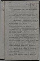 Copy of Letter from Dillon C. Govin, undated