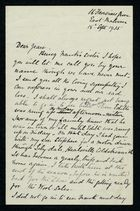 Letter from Edith Thompson to Jean, September 18, 1935