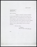 Letter from Ruth Benedict to Donald Collier, April 22, 1939