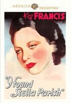 I Found Stella Parish (1935): Shooting script