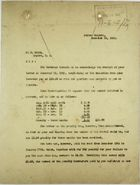 Letter from C. A. McIlvaine to F. N. Frith re: Deductions, December 20, 1915