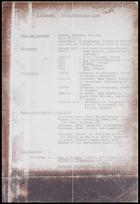 B.W. Hodder - short curriculum vitae