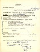 Agenda for SPREE Meeting, January 13, 1970