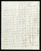 Letter from Margaret Winter Preston to Samuel Pratt Winter, August 1843