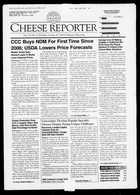 Cheese Reporter, Vol. 133, No. 15, Friday, October 10, 2008