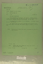 Message from USARMA Tel Aviv Israel to DEPTAR Washington DC, April 10, 1957