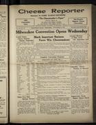 Cheese Reporter, Vol. 54, no. 12, Saturday, November 30, 1929
