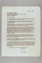 Letter from Edith Wynner to Elizabeth Tapper, June 11, 1958