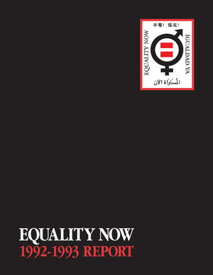 Equality Now: 1992-1993 Report
