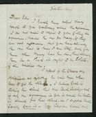 Letter from Robert Anderson to Edith Thompson, Saturday