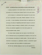 Subject: An American View of the Problem of Peace in the Near East, [by R. P. D.], c. May 21, 1968