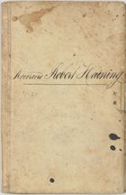 Bank of South Australia passbook cover belonging to Rev. Robert Haining