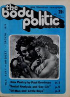 The Body Politic no. 5, July/August 1972