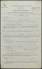Application for Additional Rations on Medical Grounds - Blank Form