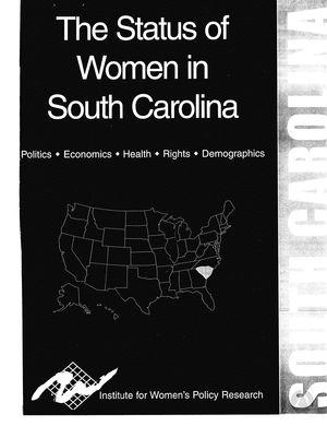 The Status of Women in South Carolina, 2002