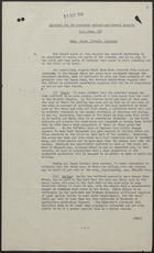 R.S. Memo No. 108 from L.W. Crawford to Mr. E.G. Harwood re: Material for the September Cabinet & General Reports - Home Grown Cereals Division, October 9, 1946