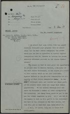 Draft of Letter from P. Rogers to Dennis H. Geffen re: Adapting Cypriot Immigration Scheme for West Indians, with Related Minutes, December 1, 1958