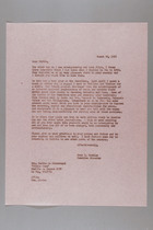 Letter from Anne B. Crolius to Bertha de Alvestegui, March 22, 1967