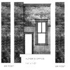 B&W Elevation: Alfieri's Office