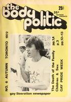 The Body Politic no. 6, Autumn 1972