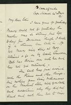 Letter from Robert Anderson to Edith Thompson, December 14, 1891