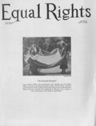 Equal Rights, Vol. 13, no. 21, July 10, 1926