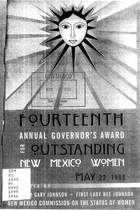 14th Annual Governor's Award for Outstanding New Mexico Women
