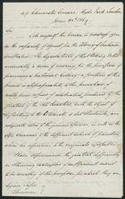 Letter from Alfred J. Johnson to Samuel Pratt Winter, June 25, 1869