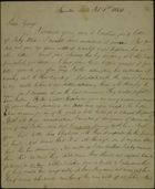 Letter from James Butchart to George Butchart, February 1, 1845