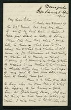 Letter from Robert Anderson to Edith Thompson, April 6, 1897