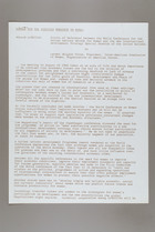Agenda for the Eighties Workshop on Women