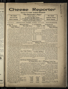 Cheese Reporter, Vol. 54, no. 45, Saturday, July 19, 1930