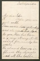 Letter from Ethel Anderson to Edith Thompson, undated