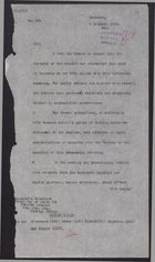 Letter from W. A. Smart to Secretary of State for Foreign Affairs re: Celebration of Prophet's Birthday, October 4, 1925